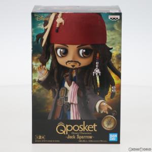 『中古即納』{FIG}ジャック・スパロウ(衣装明るい) Q posket Disney Characters Jack Sparrow パイレーツ・オブ・カリビアン フィギュア プライズ バンプレスト media-world