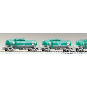 『予約前日出荷』{RWM}(再販)10-1167 タキ1000 日本石油輸送色 ENEOS(エコレールマーク付) 8両セットB Nゲージ 鉄道模型 KATO(カトー)(2018年11月)|media-world