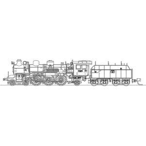『新品即納』{RWM}国鉄 C51 248/171号機 「燕」仕様 蒸気機関車 塗装済完成品 Nゲージ 鉄道模型 ワールド工芸(20160220)|media-world
