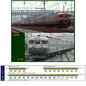 『新品即納』{RWM}98220 国鉄 165系急行電車増結セットD(2両) Nゲージ 鉄道模型 TOMIX(トミックス)(20161029)|media-world