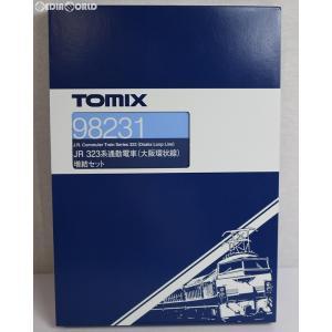 『新品』『O倉庫』{RWM}98231 JR 323系通勤電車(大阪環状線)増結セット(5両) Nゲージ 鉄道模型 TOMIX(トミックス)(20170311)|media-world