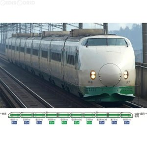 『新品即納』{RWM}98620 JR 200系東北・上越新幹線(K47編成・リバイバルカラー)増結セット(4両) Nゲージ 鉄道模型 TOMIX(トミックス)(20170301) media-world