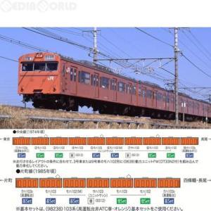 『新品』『O倉庫』{RWM}9312 国鉄電車 サハ103形(ユニットサッシ・オレンジ) Nゲージ 鉄道模型 TOMIX(トミックス)(20170226)|media-world
