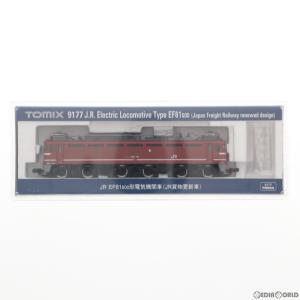 『新品』『O倉庫』{RWM}9177 JR EF81-600形電気機関車(JR貨物更新車) Nゲージ 鉄道模型 TOMIX(トミックス)(20170429)|media-world