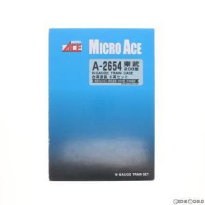 『中古即納』{RWM}A2654 東武200型・台湾塗装 6両セット Nゲージ 鉄道模型 MICRO ACE(マイクロエース)(20170721)|media-world