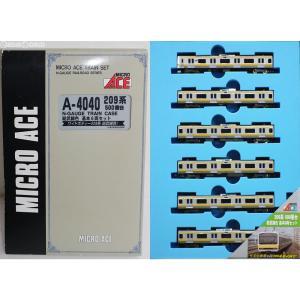 『中古即納』{RWM}A4040 209系500番台 総武線色 基本6両セット Nゲージ 鉄道模型 マイクロエース(20030617) media-world