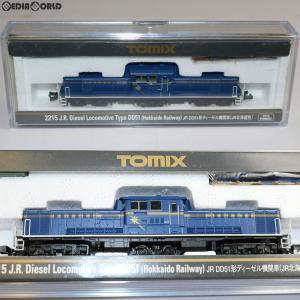 『新品』『O倉庫』{RWM}(再販)2215 JR DD51形ディーゼル機関車(JR北海道色) Nゲージ 鉄道模型 TOMIX(トミックス)(20170923)|media-world