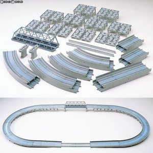 『新品即納』{RWM}91074 レールセット高架複線立体交差セット(HCパターン) Nゲージ 鉄道模型 TOMIX(トミックス)(20171217)