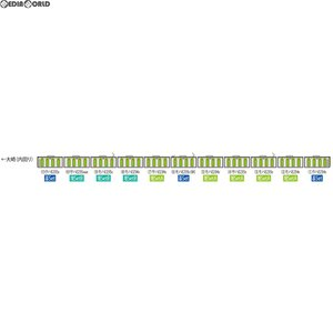 『予約安心出荷』{RWM}92591 JR E235系通勤電車(山手線)増結セットB(3両) Nゲージ 鉄道模型 TOMIX(トミックス)(2018年3月) media-world