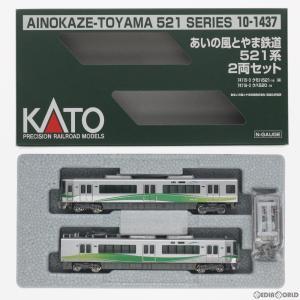 『新品』『O倉庫』{RWM}10-1437 あいの風とやま鉄道521系 2両セット Nゲージ 鉄道模型 KATO(カトー)(20180630)|media-world
