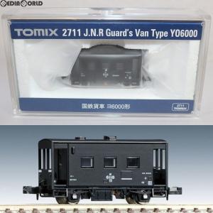 『中古即納』{RWM}2711 国鉄貨車 ヨ6000形 Nゲージ 鉄道模型 TOMIX(トミックス)(20110731)|media-world