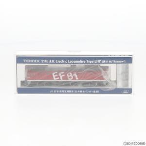 『予約安心出荷』{RWM}(再販)9145 JR EF81形電気機関車(95号機・レインボー塗装) Nゲージ 鉄道模型 TOMIX(トミックス)(2019年2月)|media-world
