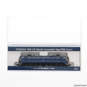 『新品』『O倉庫』{RWM}(再販)9151 JR EF66形 電気機関車(27号機) Nゲージ 鉄道模型 TOMIX(トミックス)(20190330)|media-world