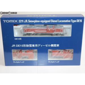 『中古即納』{RWM}2211 JR DE15形 除雪兼用ディーゼル機関車 Nゲージ 鉄道模型 TOMIX(トミックス)(20060530)|media-world