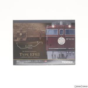 『中古即納』{RWM}98922 限定品 JR EF63形 電気機関車(24・25号機・茶色) 2両セット Nゲージ 鉄道模型 TOMIX(トミックス)(20140330) media-world