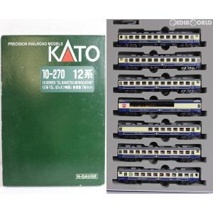 『中古即納』{RWM}10-270 12系「SLばんえつ物語号」新塗装 7両セット Nゲージ 鉄道模型 KATO(カトー)(20080731) media-world