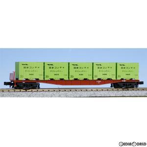 『新品』『O倉庫』{RWM}8059-2 コキ5500 6000形コンテナ積載 2両セット Nゲージ 鉄道模型 KATO(カトー)(20150429)|media-world