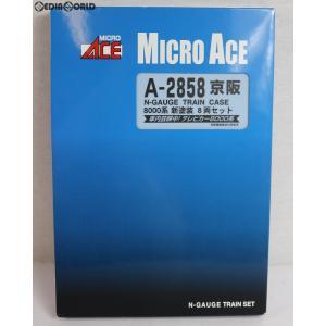 『中古即納』{RWM}A2858 京阪8000系 新塗装 8両セット Nゲージ 鉄道模型 MICRO ACE(マイクロエース)(20110131)|media-world
