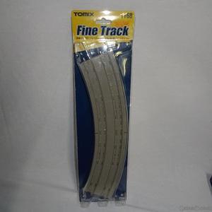『新品即納』{RWM}1168 Fine Track(ファイントラック) 複線スラブカーブレールDC465・428-45-SL(F)(2本セット) Nゲージ 鉄道模型 TOMIX(トミックス)(20060228)|media-world