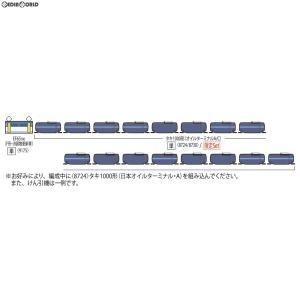 『新品』『O倉庫』{RWM}97905 限定品 私有貨車 タキ1000形(日本オイルターミナル・C)セット(2両) Nゲージ 鉄道模型 TOMIX(トミックス)(20190518)|media-world