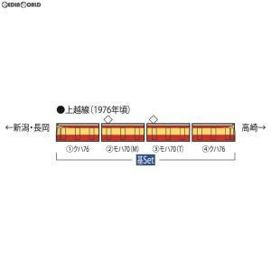 『予約安心出荷』{RWM}HO-9039 国鉄 70系電車(新潟色)基本セット(4両) HOゲージ 鉄道模型 TOMIX(トミックス)(2019年3月)|media-world