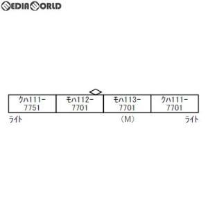 『予約安心出荷』{RWM}A9573 113系-7700 30N更新車・抹茶色 4両セット Nゲージ 鉄道模型 MICRO ACE(マイクロエース)(2019年9月)|media-world