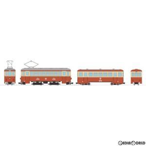 『新品即納』{RWM}303350 鉄道コレクション(鉄コレ) ナローゲージ80 猫屋線直通用路面電車+客車セット HOナローゲージ 鉄道模型 TOMYTEC(トミーテック) media-world