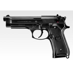 『新品即納』{MIL}東京マルイ エアーハンドガン M92F ミリタリーモデル ハイグレード/ホップアップ (18歳以上専用)(20150223)|media-world