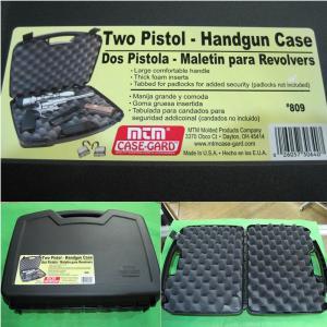 『新品』『O倉庫』{MIL}MTM Two Pistol-Handgun Case(ツーピストルハンドガンケース) 2丁収納ハンドガンケース(#809-40)(20150223)|media-world