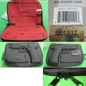 『新品即納』{MIL}G.P.S. Custom Molded Pistol Case(カスタム モールド ピストル ケース) SIG(GPS-910PC)(20160803)|media-world