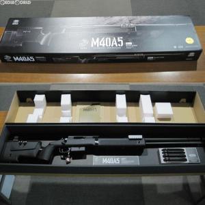 『新品』『O倉庫』{MIL}東京マルイ ボルトアクションエアーライフル M40A5 ブラックストック (18歳以上専用)(20170127) media-world
