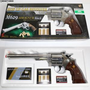 『新品即納』{MIL}クラウンモデル ホップアップガスリボルバー S&W M629 .44マグナム 8インチ ステンレスタイプ (18歳以上専用)(20061130)|media-world