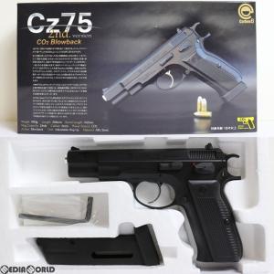 『新品即納』{MIL}Carbon8(カーボネイト) CO2 ガスブローバック Cz75 2nd.ver ABS樹脂スライド(CB01BK) (18歳以上専用)(20171118)|media-world