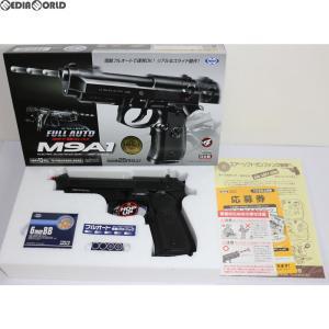 『新品即納』{MIL}東京マルイ 電動ブローバック フルオート M9A1 ブラック (10歳以上専用)(20140131)|media-world