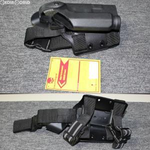 『新品即納』{MIL}EmersonGear(エマーソンギア) M1911系対応 サファリランドタイプ ドロップレッグデューティーホルスター BK(ブラック/黒)(JE031BKL)(20180405)|media-world