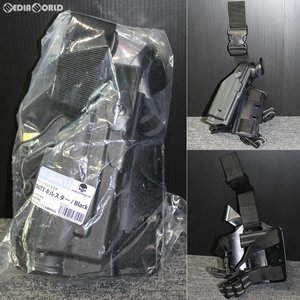 『新品即納』{MIL}EmersonGear(エマーソンギア) グロック17対応 サファリランドモデル レッグデューティーホルスター BK(ブラック/黒) 右利き用(JE032BKL)|media-world