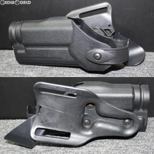 『新品即納』{MIL}EmersonGear(エマーソンギア) P226対応 サファリランドモデル ベルトループデューティーホルスター BK(ブラック/黒) 右利き用(JE035BKB)|media-world