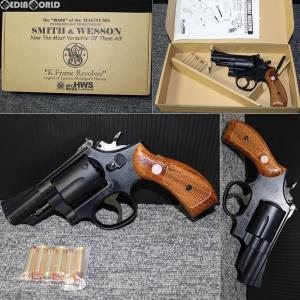 『新品即納』{MIL}ハートフォード(HWS) 発火モデルガン S&W(スミスアンドウエッソン) M19 2.5インチ ブルー・ブラックフィニッシュ HW(ヘビーウェイト)|media-world