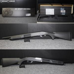 『新品即納』{MIL}S&T エアーショットガン M870 ミディアム BK(ブラック/黒)(ST-SPG-07-BK) (18歳以上専用)(20180831)|media-world