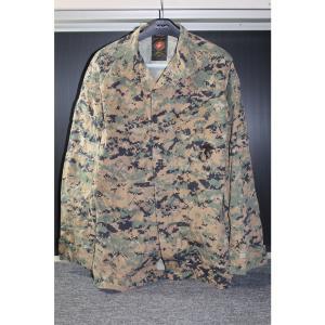 『中古即納』{MIL}PROPPER(プロパー) USMC BDUジャケット ウッドランドマーパット SMALL-LONG(スモールロング)(20150223)|media-world