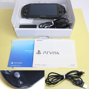 『中古即納』{訳あり}{本体}{PSVita}PlayStationVita Wi-Fiモデル ブラック(PCH-2000ZA11)(20131010)