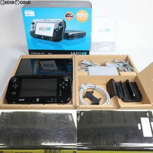 『中古即納』{訳あり}{本体}{WiiU}Wii U プレミアムセット 黒 PREMIUM SET kuro(本体メモリー32GB)(WUP-S-KAFC)(20121208) media-world