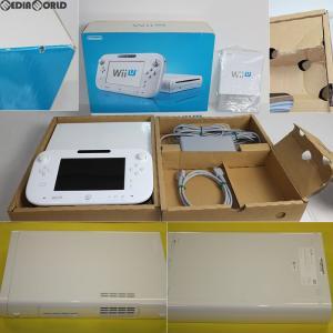 『中古即納』{訳あり}{本体}{WiiU}Wii U ベーシックセット 白 BASIC SET Shiro/シロ (本体メモリー8GB)(WUP-S-WAAA)(20121208) media-world
