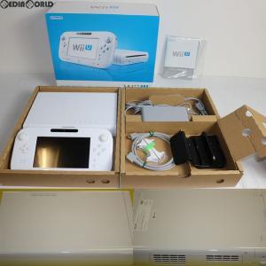 『中古即納』{訳あり}{本体}{WiiU}Wii U プレミアムセット PREMIUM SET shiro/シロ/白(本体メモリー32GB)(WUP-S-WAFC)(20130713) media-world