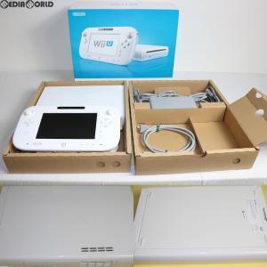 『中古即納』{訳あり}{本体}{WiiU}Wii U ベーシックセット 白 BASIC SET Shiro/シロ (本体メモリー8GB)(WUP-S-WAAA)(20121208)|media-world