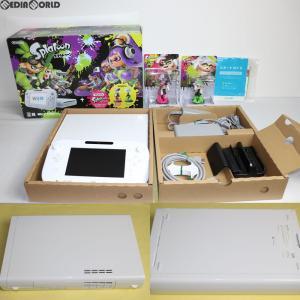『中古即納』{訳あり}{本体}{WiiU}Wii U スプラトゥーン セット(amiibo アオリ・ホタル付き)(Wii Uプレミアムセット shiro/シロ/白 同梱)(WUP-S-WAHT)(20160707)|media-world