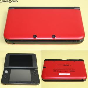 『中古即納』{訳あり}{本体}{3DS}ニンテンドー3DS LL レッド×ブラック(SPR-S-RKAA)(20120728)|media-world