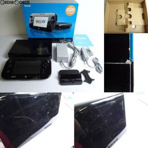 『中古即納』{訳あり}{本体}{WiiU}Wii U プレミアムセット 黒 PREMIUM SET kuro(本体メモリー32GB)(WUP-S-KAFC)(20121208)|media-world