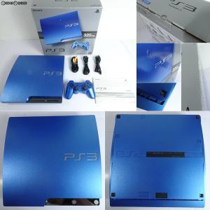 『中古即納』{訳あり}{本体}{PS3}プレイステーション3 PlayStation3 HDD320GB スプラッシュ・ブルー(CECH-3000BSB)(20111117)|media-world