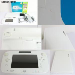 『中古即納』{訳あり}{本体}{WiiU}Wii U すぐに遊べるファミリープレミアムセット+Wii Fit U(シロ/shiro/白)(WUP-S-WAFT)(20131031)|media-world